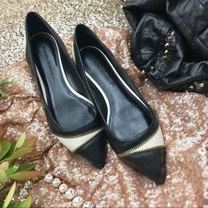 Banana Republic Shoes - Banana Republic Zipper Flats
